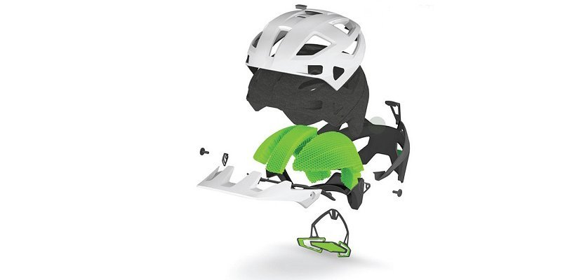 Exploded view MT500 Helmet