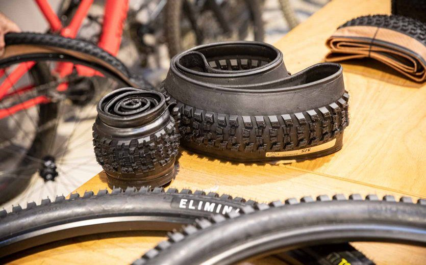 The fruits of meticulous labour: MTB tyres with new rubber compounds