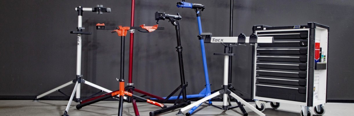 FREE INT SHIPING CONTEC Rock Steady Bicycle Work Stand NEW IN BOX