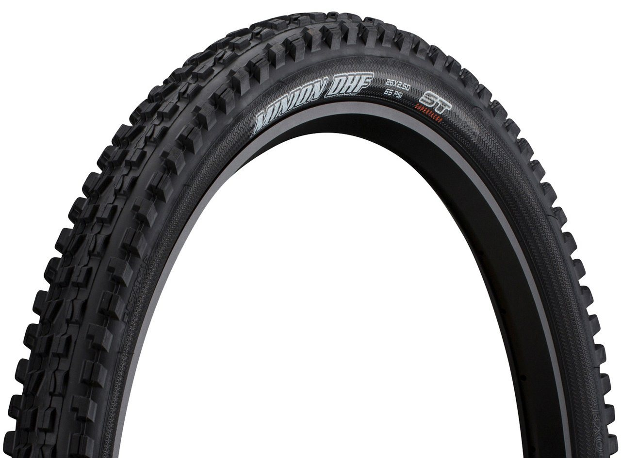 "Maxxis Minion DHF Super Tacky 42a compound 26/"" x 2.50 Wire Tube 60Tpi"