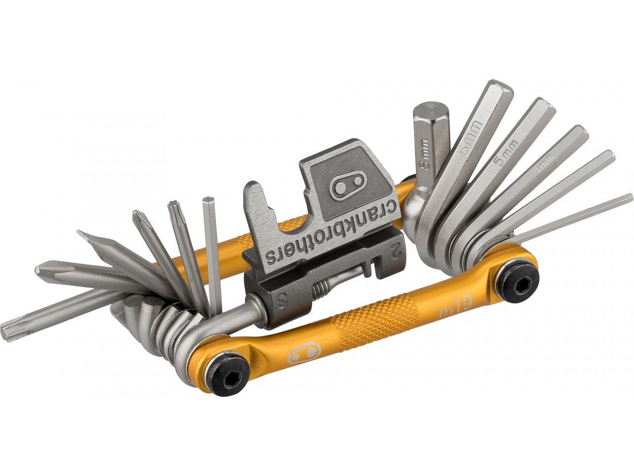 Gold Crank Brothers Multi-19 Tool