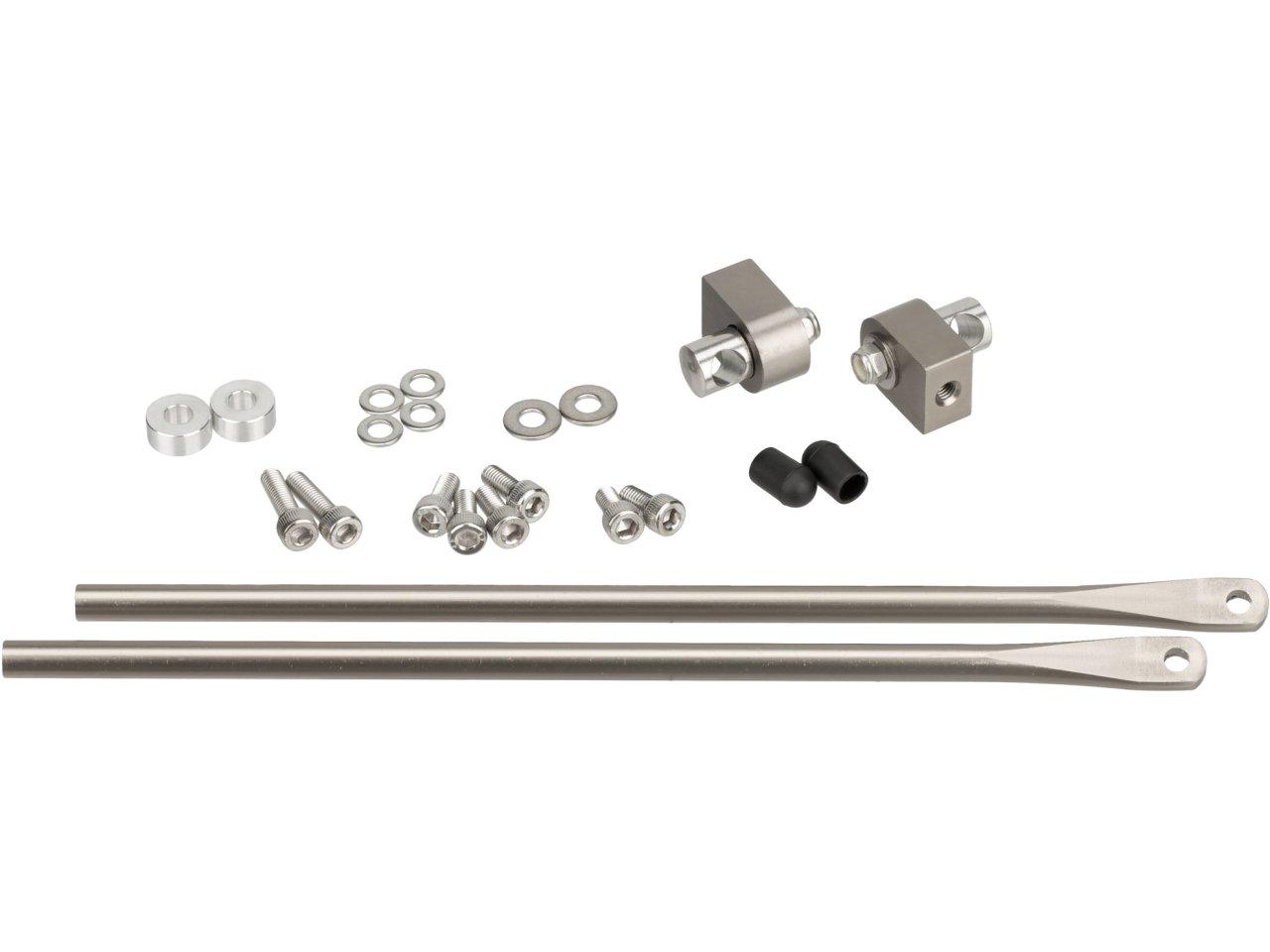 Classic Mini Upper Shock Bracket Fixings Kit Stainless Steel