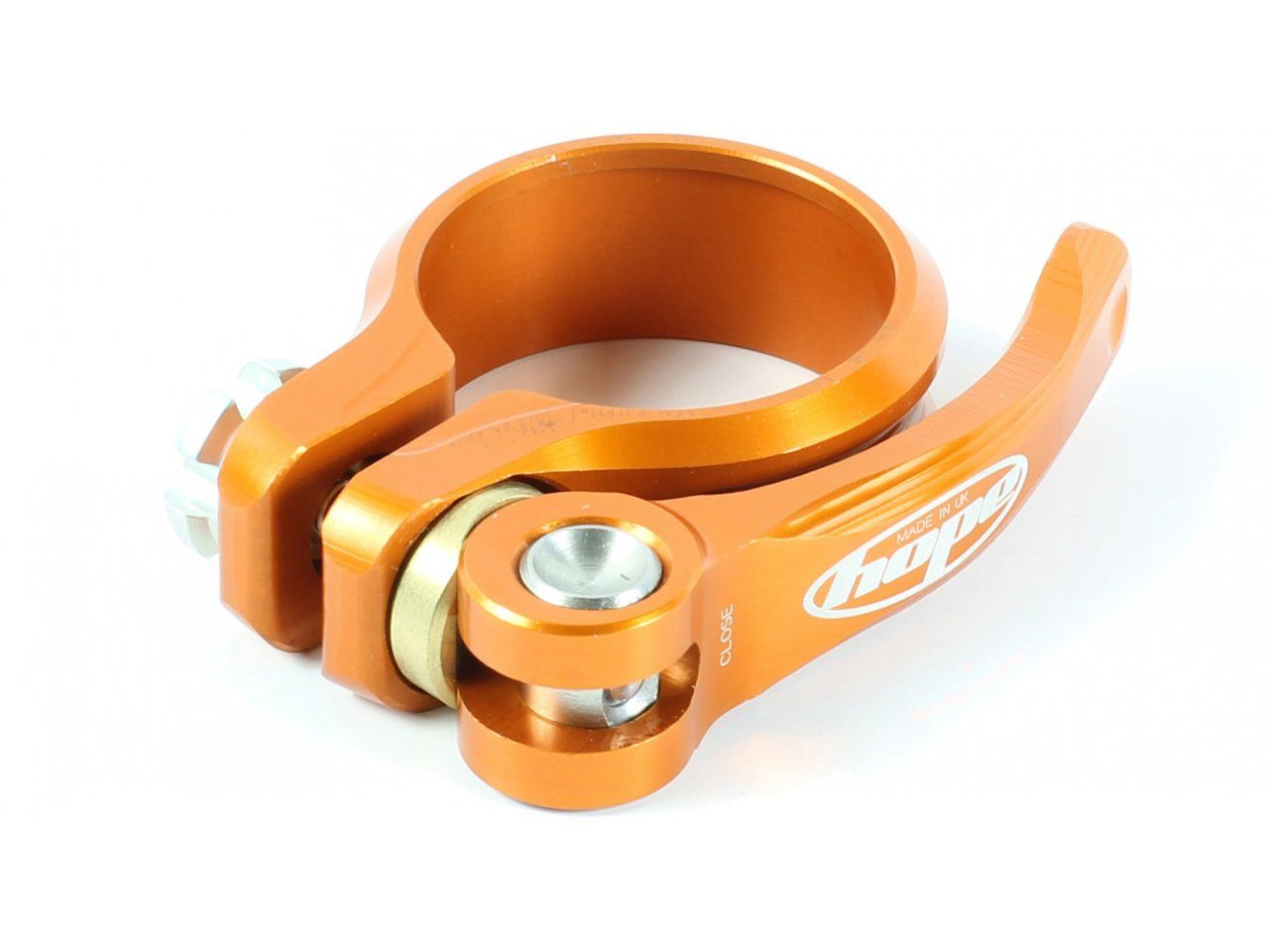 Hope Quick Release Seat Clamp 28.6mm Purple