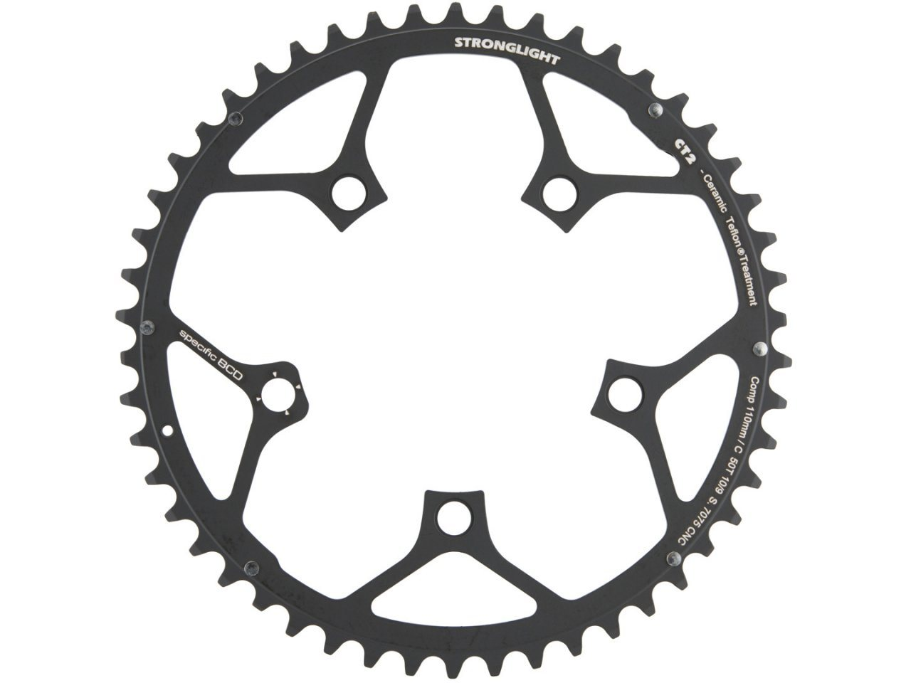 Campagnolo 10 speed CT Compact 34t Chainrings Chain rings  NEW