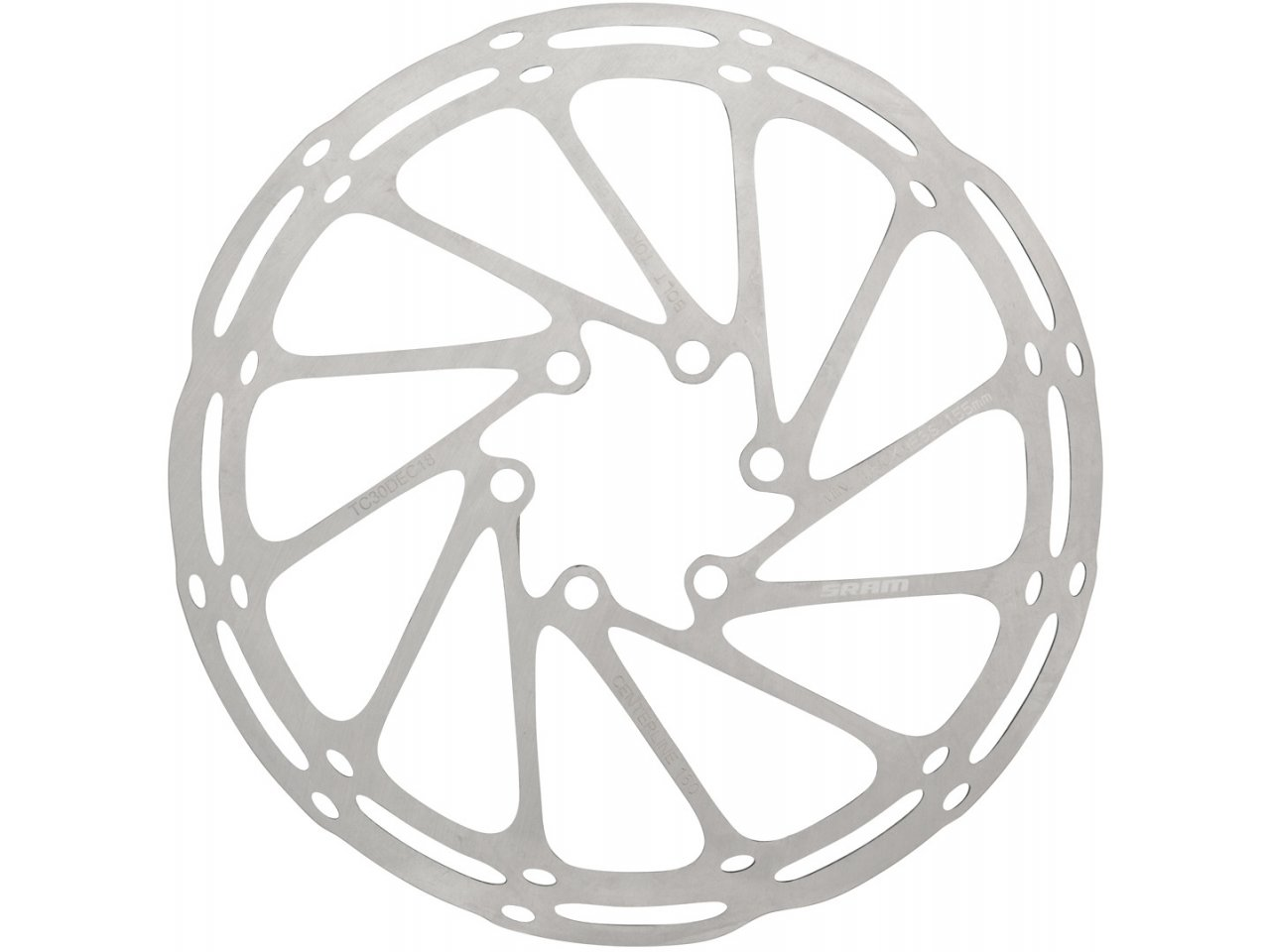 140mm~Bicycle Cycling MTB Mountain Bike Stainless Steel Brake Disc Rotor 6 Bolts