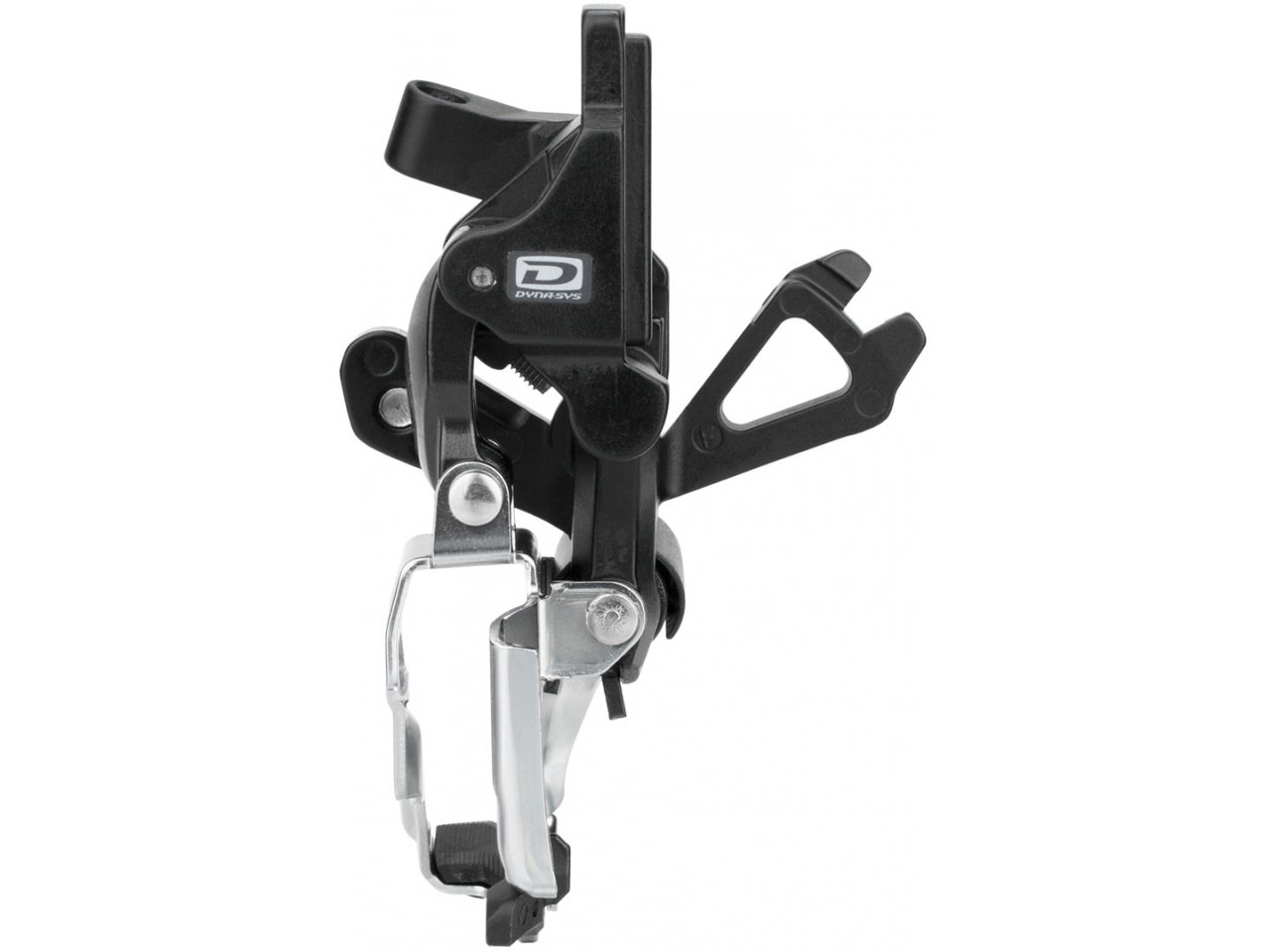 NEU DOWN-PULL SHIMANO FD-M618 2x10speed DEORE Umwerfer TOP-SWING LOW CLAMP