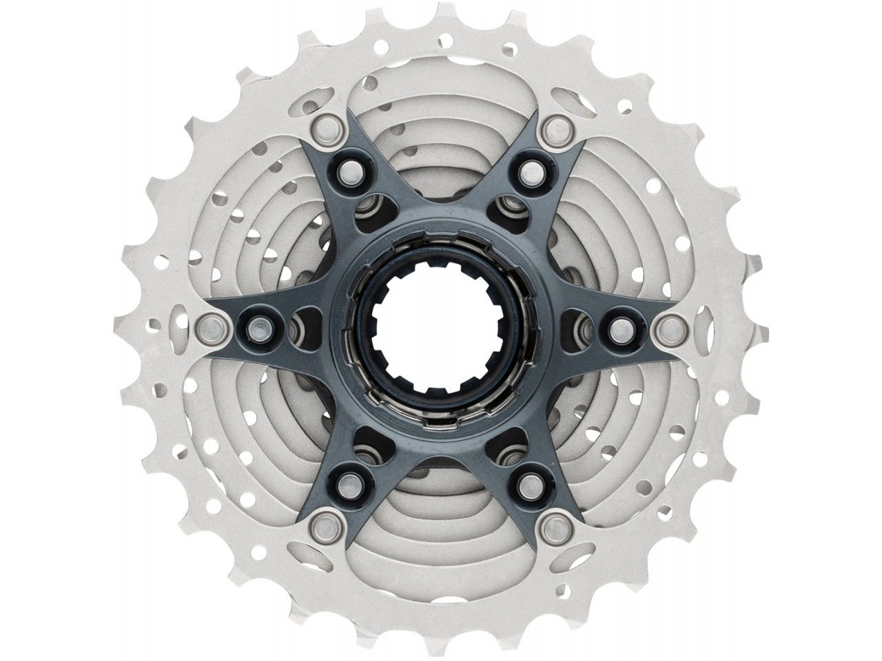 SHIMANO ULTEGRA 6800 11-SPEED NICKEL PLATED 11-28T ROAD BICYCLE CASSETTE