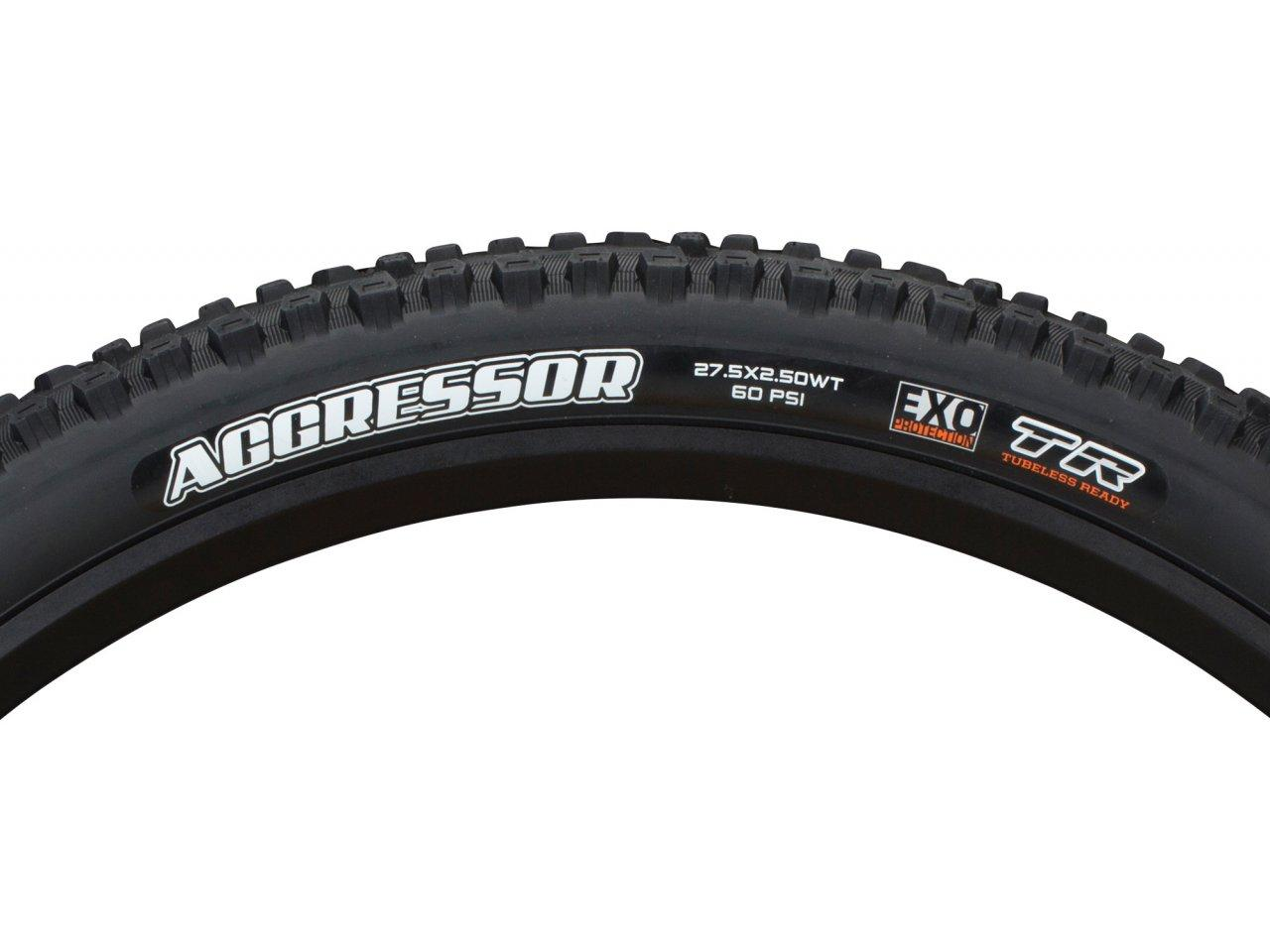 Maxxis Aggressor DC//EXO//TR 29x2.5 Tubeless Mountain Bike Tire