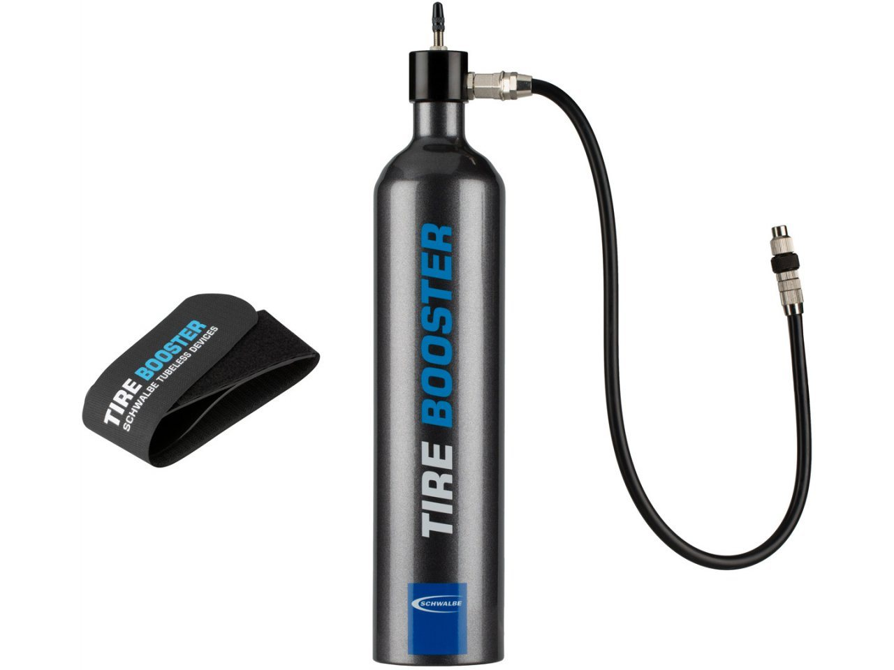 Schwalbe Tire Booster Tubeless Assembly Tyre Cylinder Pump Inc Tracked Postage