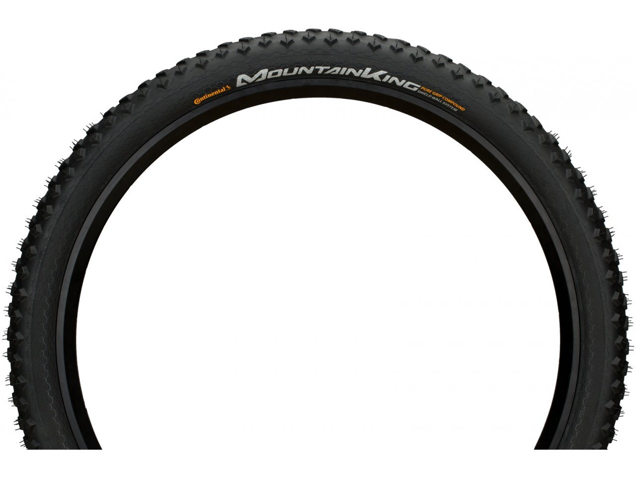 Mountain King 3 Performance Pure Grip Folding 26x2.30 Continental Black