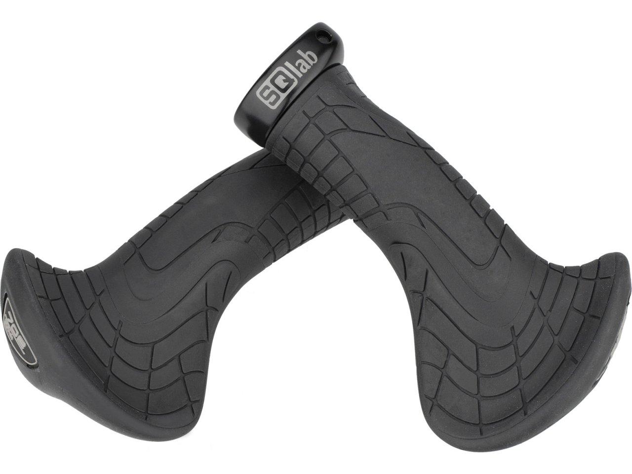SQlab 702 Komfort Trekking Fahrrad-Lenkergriffe mit großer Auflagefläche