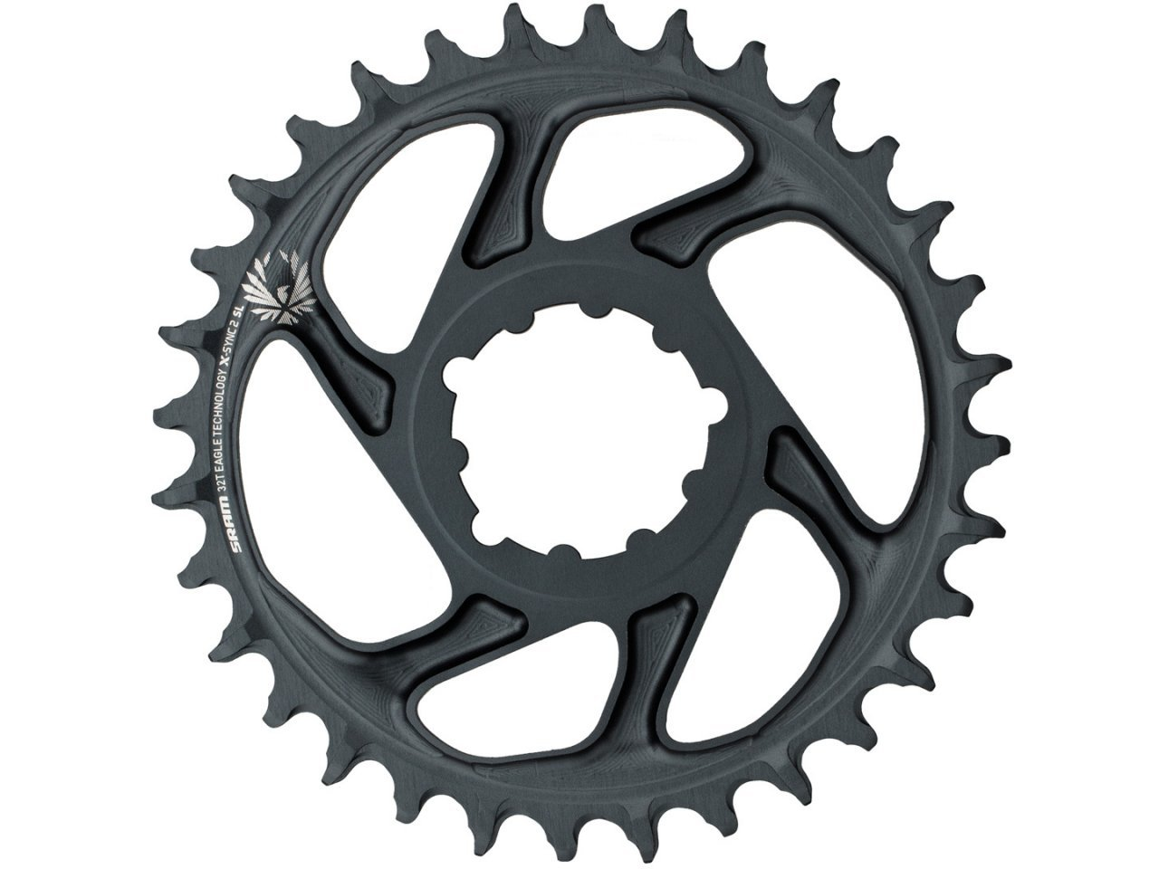 Sram X-SYNC 2 Eagle XX1  12 spd Direct Mount 36T Chainring 3mm Offset Boost Gold