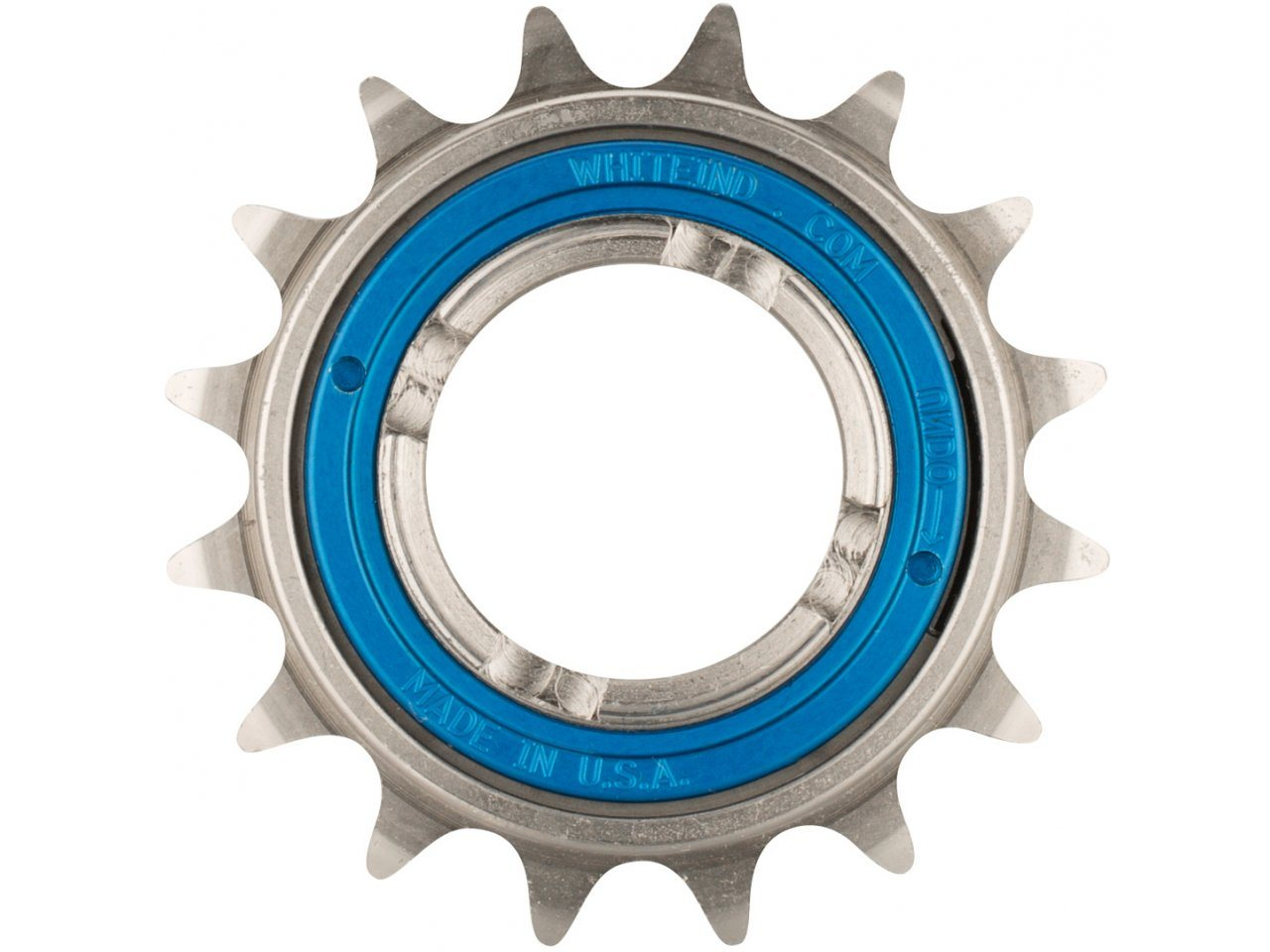 New 16 tooth steel track cog silver