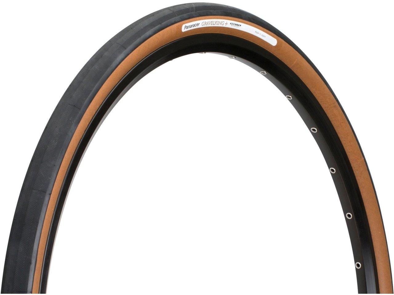 Brown Panaracer GravelKing Slick Plus Tubeless Tyre